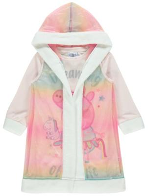 Peppa Pig Rainbow Nightdress with Cape