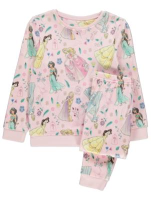 Disney Princess Pink Print Fleece Twosie