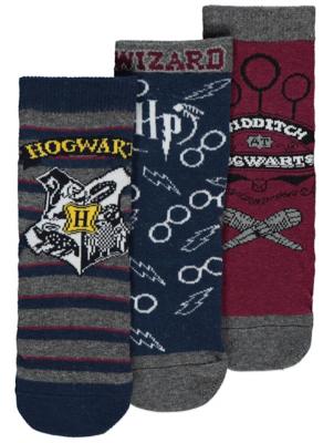 Harry Potter Hogwarts Socks 3 Pack