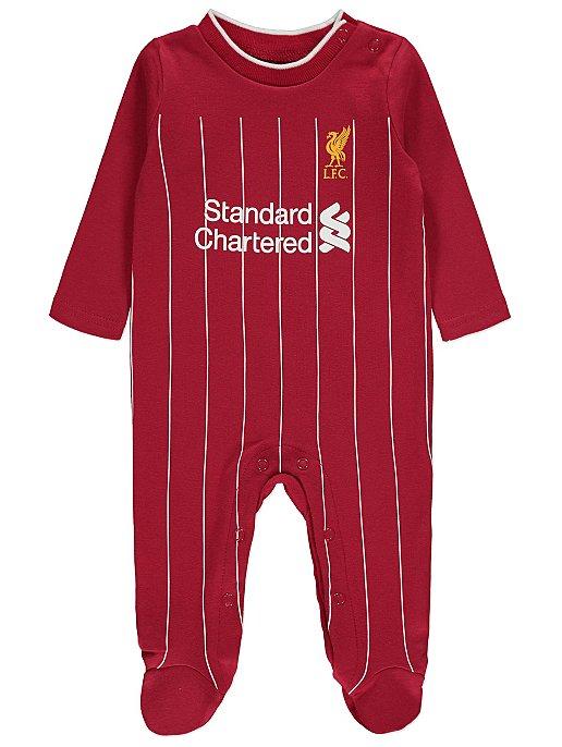 Baby Boys Football Club Sleepsuit Pack of 2 Liverpool F.C