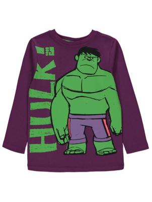 Marvel Comics Avengers The Hulk Long Sleeve Top