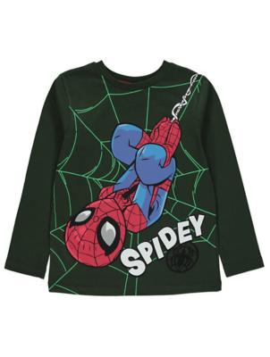 Marvel Spider-Man Khaki Long Sleeved Top