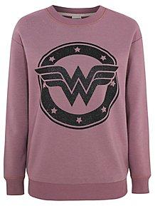 0c30b1c604 Wonder Woman Purple Sweatshirt