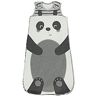 Grey Panda 2.5 Tog Sleeping Bag by Asda
