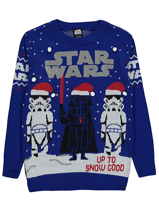 enjoy clearance price quality products numerous in variety Star Wars Darth Vader Christmas Jumper