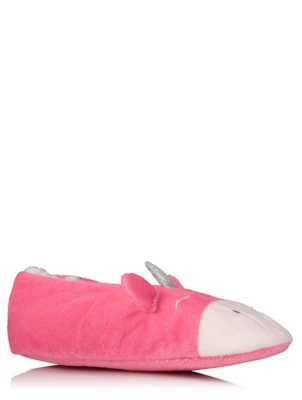 Pink Unicorn Slippers