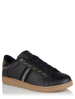 Harry Potter Gryffindor Black and Gold Trainers