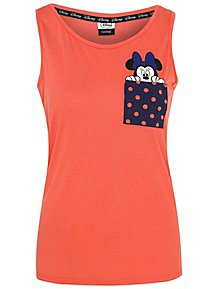 6b0a4fa3af6 Disney Minnie Mouse Pocket Vest Top