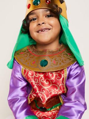 Nativity King Fancy Dress Costume