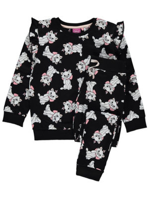 Disney The Aristocats Marie Print Sweatshirt and Leggings Outfit