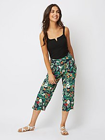f600170e5bac Womens Cropped Trousers | Trousers | George at ASDA