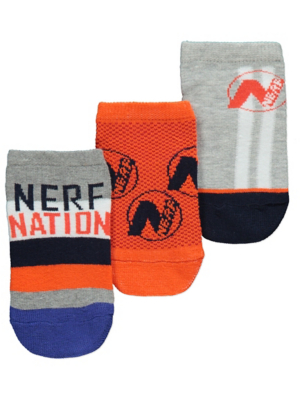 Nerf Trainer Liner Socks 3 Pack
