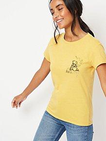 511e1ce30 Disney Winnie the Pooh Honey Embroidered T-Shirt