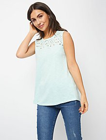 d38e155a30a0 Vests & Sleeveless Tops | Tops | Women | George at ASDA