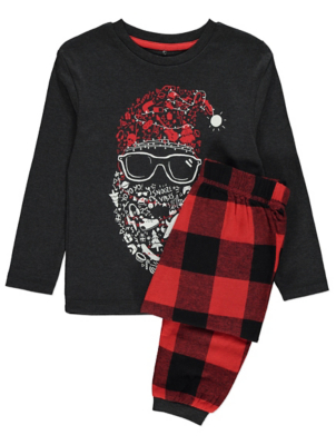 Santa Face Christmas Pyjamas