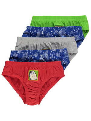 Disney Toy Story Briefs 5 Pack