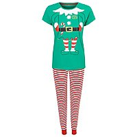 Nan Elf Family Christmas Pyjamas by Asda
