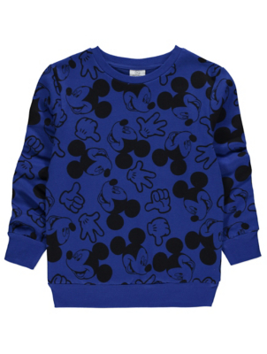 Disney Mickey Mouse Navy Sweatshirt
