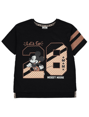 Disney Mickey Mouse Glitter Athletic T-Shirt
