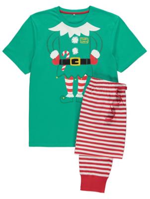 Daddy Elf Family Christmas Pyjamas