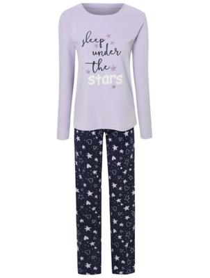 Lilac Fleece Slogan Pyjamas Gift Set
