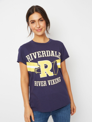 Riverdale Navy Athletic Slogan T-Shirt