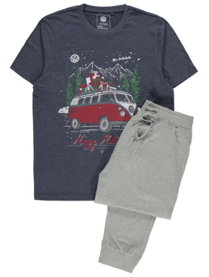 VW Campervan Christmas Pyjamas