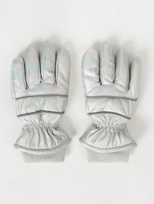 Thinsulate™ Iridescent Padded Ski Gloves