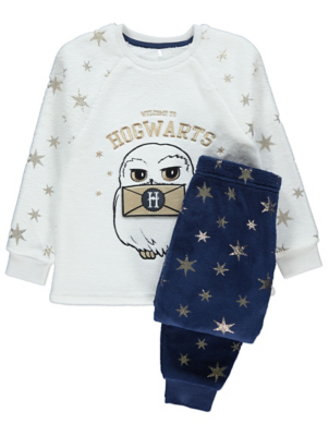 Harry Potter Hedwig Fleece Pyjamas