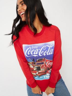 Coca Cola Santa Claus Slogan Christmas Sweatshirt