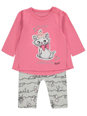 Disney The Aristocats Marie Top and Leggings Outfit