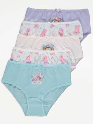 Peppa Pig Briefs 5 Pack