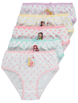 Disney Princess Briefs 5 Pack