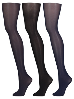 Opaque 60 Denier Tights 3 Pack