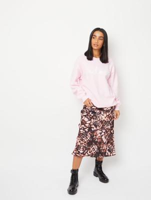 Pink J'adore Slogan Sweatshirt