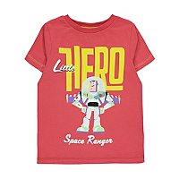 Disney Toy Story Buzz Lightyear Hero Slogan T Shirt by Asda