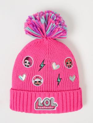LOL Surprise! Pink Logo Bobble Hat