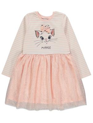 Disney Aristocats Marie Pink Skater Dress