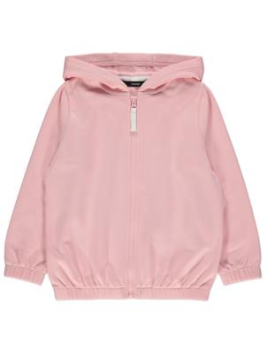 Pink Fitted Hem Hoodie