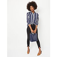 Navy Stripe Shirt by Asda