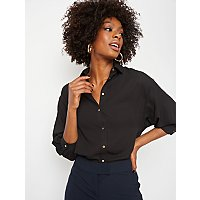 Black Lightweight Shirt by Asda