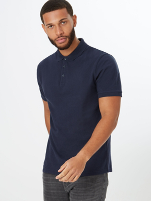 Navy Short Sleeve Polo Shirt