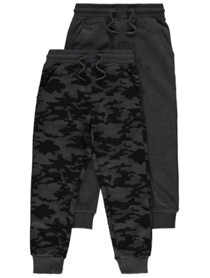 Charcoal Jersey Joggers 2 Pack