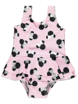 Disney Minnie Mouse Pink Swimsuit