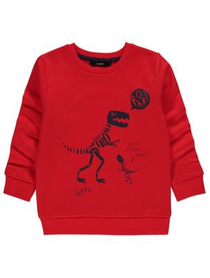 Red Fossil Road Sweatshirt