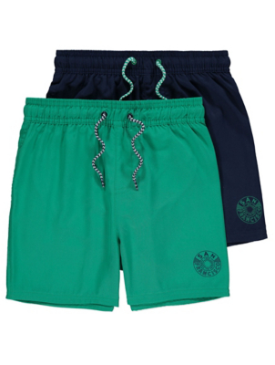 Navy Swim Shorts 2 Pack