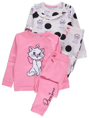 Disney The Aristocats Sweatshirt and Leggings 2 Pack