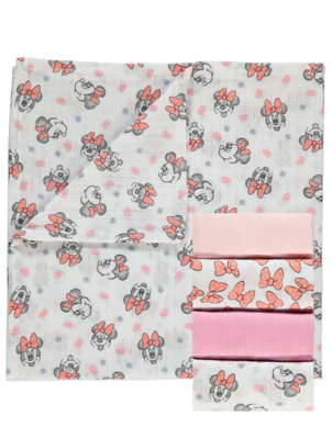 Disney Minnie Mouse Muslin Squares