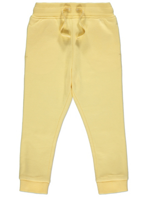 Lemon Yellow Jersey Joggers