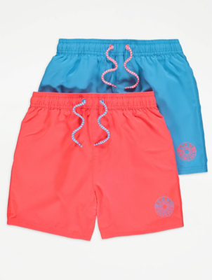 Orange Swim Shorts 2 Pack